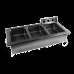 Delfield N8746N Narrow Drop-In Hot Food Well Unit