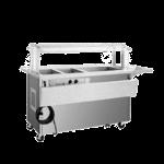 Delfield SH2CR-96-BP Shelleysteel™ Combination Hot/Cold Serving