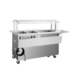 Delfield SH4CR-96-BP Shelleysteel™ Combination Hot/Cold Serving