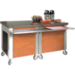 Dinex DXDCSD DineXpress™ Cashier Stand with drawer