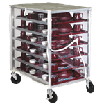 Dinex DXDHOR12UP Room Service Cart