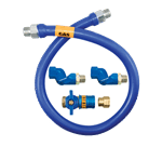 Dormont Manufacturing 16100BPCF2S24 Dormont Blue Hose™ Moveable Gas Connector Hose
