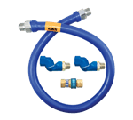 Dormont Manufacturing 16100BPQ2S48BX Dormont Blue Hose™ Moveable Gas Connector Hose