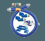Dormont Manufacturing 16100BPQ2SR72 Dormont Blue Hose™ Moveable Gas Connector Hose