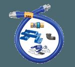 Dormont Manufacturing 16100BPQR48BXPS Dormont Blue Hose™ Moveable Gas Connector
