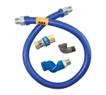 Dormont Manufacturing 16100BPQS48 Dormont Blue Hose™ Moveable Gas Connector Hose