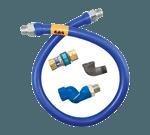 Dormont Manufacturing 16100BPQS72 Dormont Blue Hose™ Moveable Gas Connector Hose