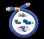 Dormont Manufacturing 16100BPQSR48 Dormont Blue Hose™ Moveable Gas Connector Hose