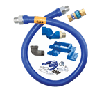Dormont Manufacturing 16100BPQSR48BXPS Dormont Blue Hose™ Moveable Gas Connector Hose