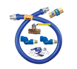 Dormont Manufacturing 16100KIT2S72 Dormont Blue Hose™ Moveable Gas Connector Kit
