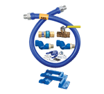 Dormont Manufacturing 16125KIT2S60PS Dormont Blue Hose™ Moveable Gas Connector Kit