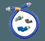 Dormont Manufacturing 1650BPQS48 Dormont Blue Hose™ Moveable Gas Connector Hose