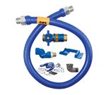 Dormont Manufacturing 1650KITCFS48PS Dormont Blue Hose™ Moveable Gas Connector Kit