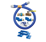 Dormont Manufacturing 1675KIT2S72PS Dormont Blue Hose™ Moveable Gas Connector Kit