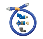 Dormont Manufacturing 16100BPCFS48 Dormont Blue Hose™ Moveable Gas Connector Hose