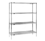 Eagle Group Eagle 1848E74-X Red-i-Pak Wire Shelving Unit