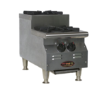 Eagle Group Eagle CLUHP-2-NG RedHots Chef's Line Step-Up Hotplate