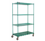 Eagle Group Eagle DS4-P74-2448Z Starter Unit with Dunnage Shelf