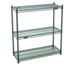 Eagle Group Eagle DWS4-74-1836VG Double-Mat Wire Shelf Starter Unit