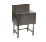 """Eagle Group Eagle FB36-24 Spec-Bar Filler Board, Freestanding with Stainless and Galvanized Steel Construction Backsplash - 36""""W x 24""""D"""