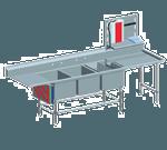Eagle Group FNP2860-3-18L-48TR Spec-Master FNP Series Coved Corner Prep Sink