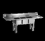 Eagle Group SFN3242-3-18R-14/3 Spec-Master® Supermarket Meat Platter Sink