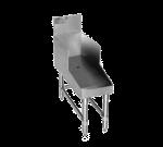 "Eagle Group Eagle RDBSR36-19 Spec-Bar Recessed Workboard, Freestanding with Stainless Steel Construction Single Speed Rail Backsplash - 36""W x 24""D"
