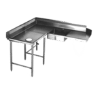 Eagle Group Eagle SDTCL-60-14/3 Spec-Master Soiled Dishtable