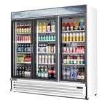 Everest Refrigeration EMSGR69 Reach-In Glass Door Merchandiser Refrigerator