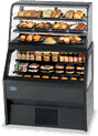 Federal Industries Federal Industries 2CD3628SS/RSS6SC Specialty Display Hybrid Merchandiser Refrigerated Self-Serve Bottom With Non-Refrigerated Self-Serve Top