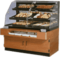Federal Industries BPFD-54SS Specialty Display Non-Refrigerated Self-Serve Bakery Case