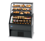 Federal Industries CD4828SS/RSS4SC Specialty Display Hybrid Merchandiser Refrigerated Self-Serve Bottom With Non-Refrigerated Self-Serve Top