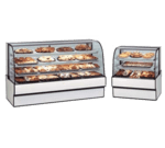 Federal Industries CGD3642 Curved Glass Non-Refrigerated Bakery Case