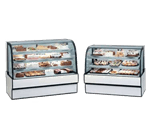 Federal Industries Federal Industries CGR7742 Curved Glass Refrigerated Bakery Case