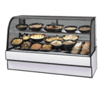 Federal Industries CGR7748CD Curved Glass Refrigerated Deli Case