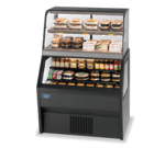 Federal Industries CH4828SS/RSS4SC Specialty Display Hybrid Merchandiser Refrigerated Self-Serve Bottom With Hot Self-Serve Top