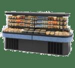 Federal Industries IMSS120SC-2 Specialty Display Island Self-Serve Refrigerated Merchandiser