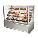Federal Industries ITD6026-B18 Italian Glass Non-Refrigerated Display Cases