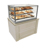 Federal Industries ITD6034 Italian Glass Non-Refrigerated Display Case