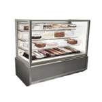 Federal Industries ITR3634-B18 Italian Glass Refrigerated Display Case