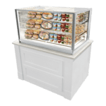 Federal Industries ITR4834 Italian Glass Refrigerated Counter Display Case