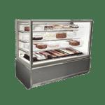 Federal Industries ITR6026-B18 Italian Glass Refrigerated Display Case
