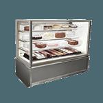 Federal Industries ITR6034-B18 Italian Glass Refrigerated Display Case