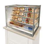Federal Industries ITRSS3626 Italian Glass Refrigerated Counter Display Case