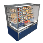 Federal Industries ITRSS6034-B18 Italian Glass Refrigerated Display Case