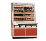 Federal Industries WDC-42 Specialty Display Non-Refrigerated Self-Serve Bakery Case