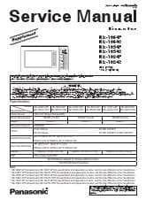 Service Manual Pdf Panasonic Ne 1054f Pro Commercial Microwave Oven Ckitchen