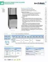 Ice-O-Matic CIM1135HA.SpecSheet.pdf
