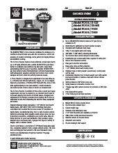 bakers pride pizza oven manual