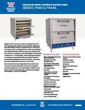 Bakers Pride P44 Bl Hearthbake Series Oven Ckitchen Com